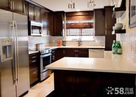 两室两厅装修效果图 2012厨房整体橱柜装修效果图