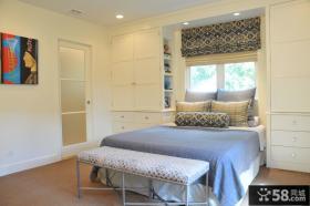 卧室入墙衣柜图片