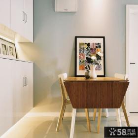 现代简约设计小餐厅装饰图