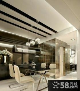 家装设计室内餐厅吊顶效果图