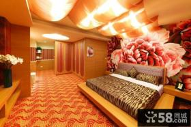 日式装修设计豪华卧室
