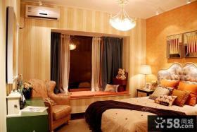 80平两居室温馨简约风格装修效果图片