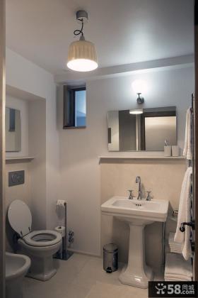 现代美式混搭风格卫生间设计