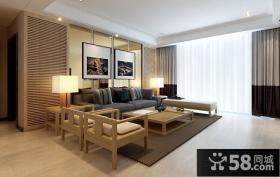 2015现代风格三居室装修效果图