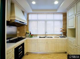 欧式风格两室两厅厨房装修效果图
