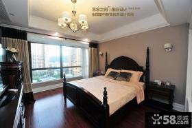 田园美式风格100平一室一厅装修效果图