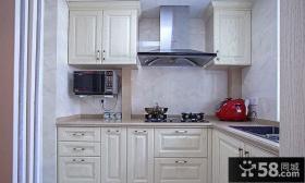 简欧风格厨房装潢图片