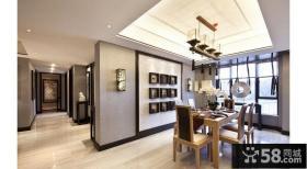 158平新中式风格餐厅效果图片