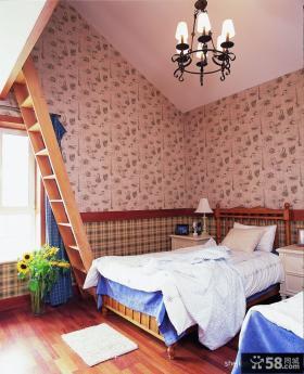 儿童房吊顶装修效果图片