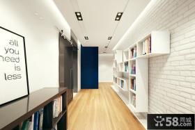 现代时尚设计别墅室内玄关效果图