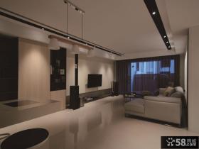 现代简约客厅装修案例展示