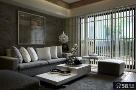 简约风格两室一厅样板间装修图片