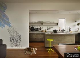 现代风格小复式楼装修效果图