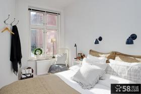 80平小户型温馨卧室装修效果图大全2012图片