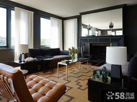 现代风格时尚室内装修效果图
