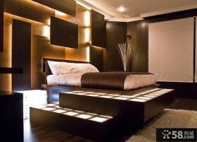 卧室LED灯带效果图