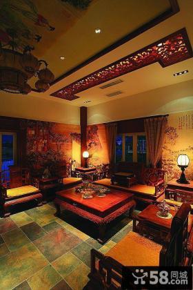古典中式明清家装别墅设计