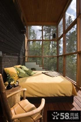 阳台卧室装修效果图欣赏