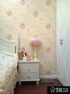 欧式卧室床头柜效果图片