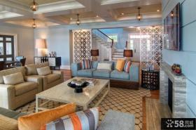 优质的复式楼客厅风格欣赏