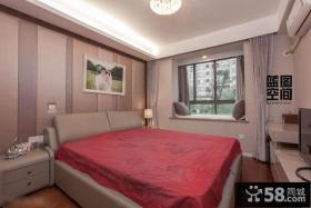 简约风格婚房卧室装修效果图欣赏