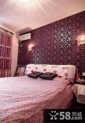 现代中式卧室效果图欣赏