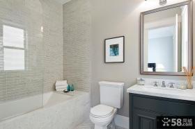 卫生间瓷砖装饰效果图