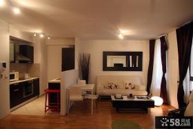 现代简约一居室小户型装修图