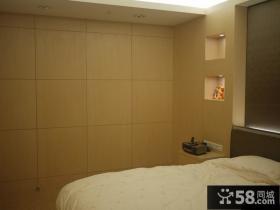 现代风格三居卧室设计效果图片