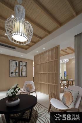 中式风格客厅软装搭配装修效果图欣赏