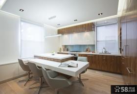 90平米小户型时尚室内厨房装修效果图大全2012图片