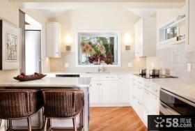 整体厨房效果图 简欧风格厨房装修效果图