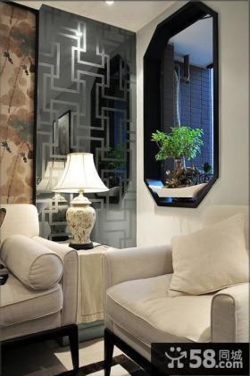 客厅新中式灯具图片大全
