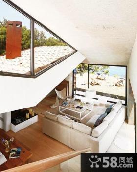 现代别墅客厅效果图大全图片