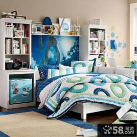 家庭卧室床头柜设计图片大全
