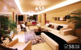 时尚现代风格两室一厅装修图