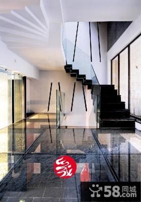 现代别墅楼梯装修效果图欣赏