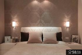 现代风格一室一厅卧室样板房装修效果图