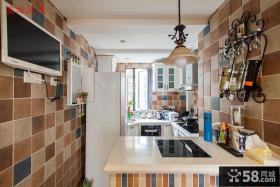 东南亚风格一室一厅厨房设计效果图