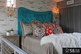 精美美式风格装修图片 小卧室装修效果图