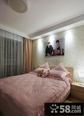 清新韩式田园风格卧室设计