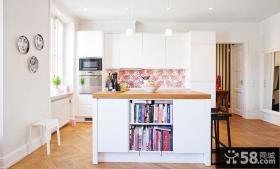 开放式厨房设计效果图大全