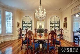 欧式风格豪华别墅设计餐厅效果图