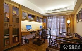古典中式书房装修效果图大全2013图片