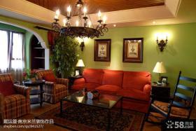 家装客厅吊顶效果图大全2013图片
