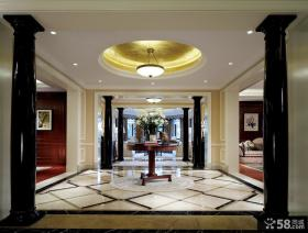 美式新古典风格室内吊顶图片大全