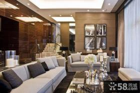 现代中式复式家居设计欣赏