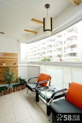 现代家居生活阳台装修设计
