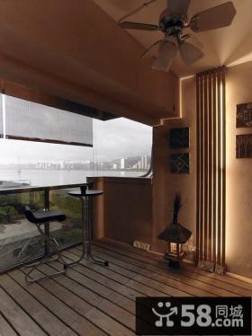 家庭设计内部阳台效果图