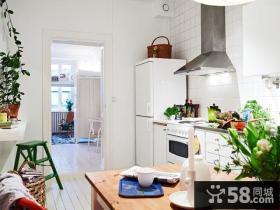 51平米小户型公寓厨房装修设计效果图
